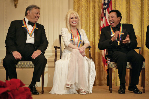 White House Reception for the Kennedy Center Honors. State Floor.