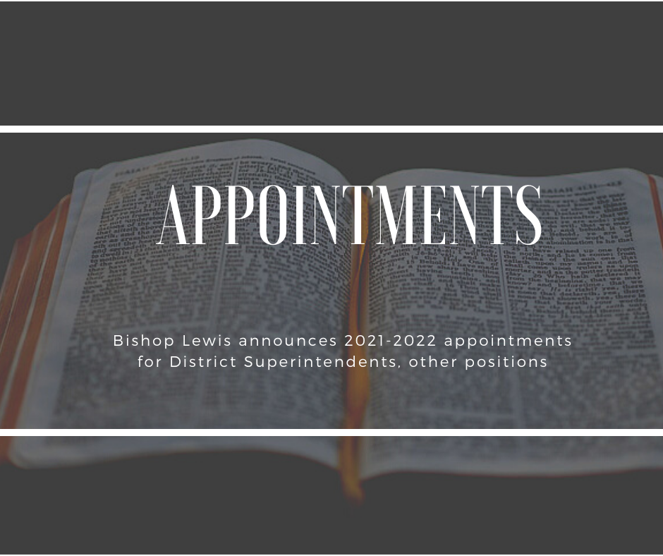 appointments 2021 FINAL