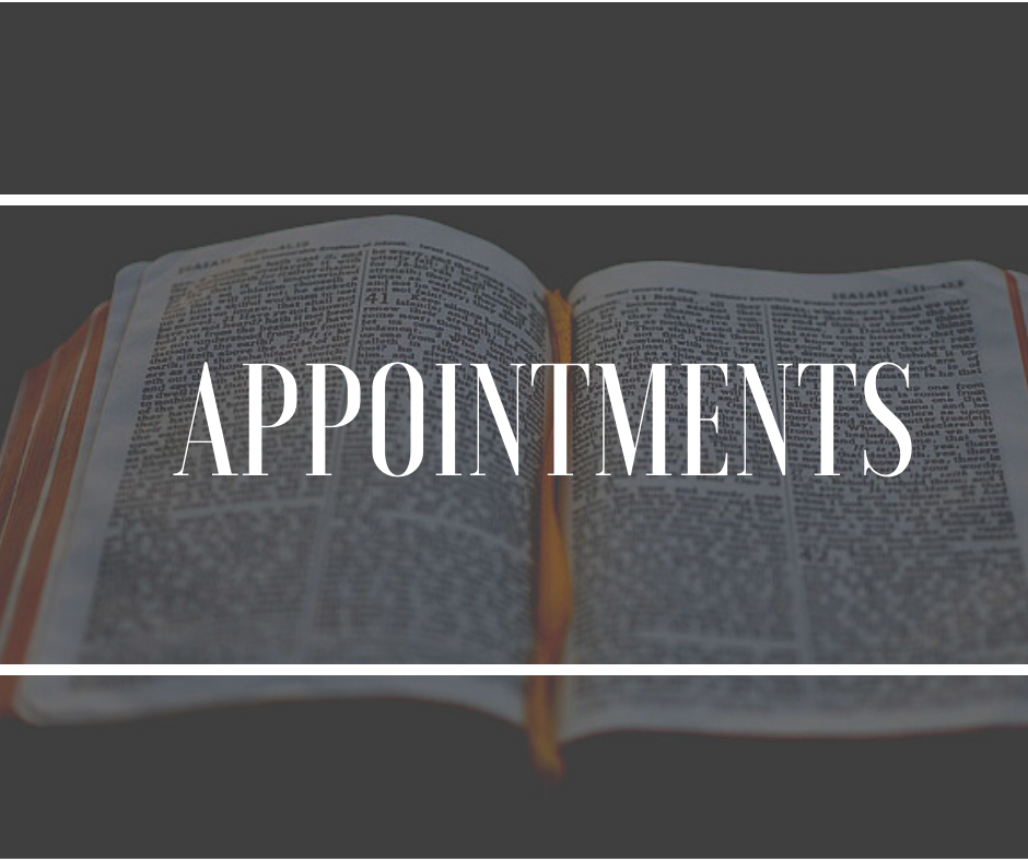 appointments general