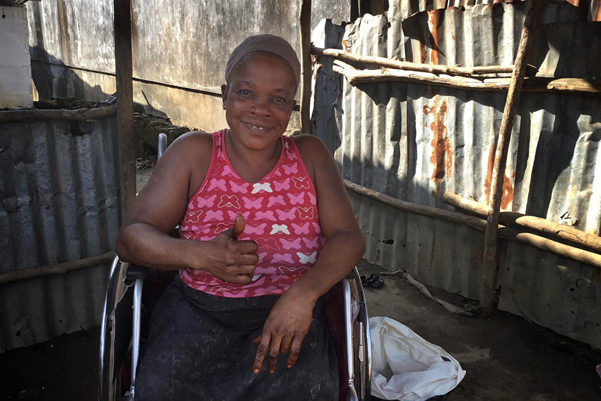 liberians wheelchairs