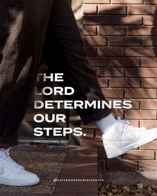 lord determines our steps