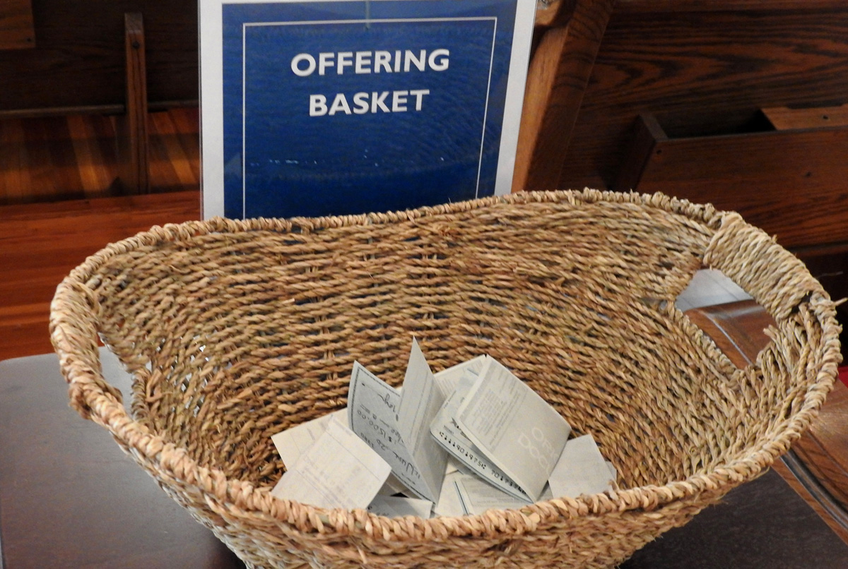offering basket