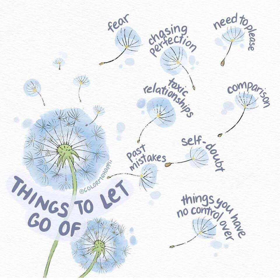 let go of