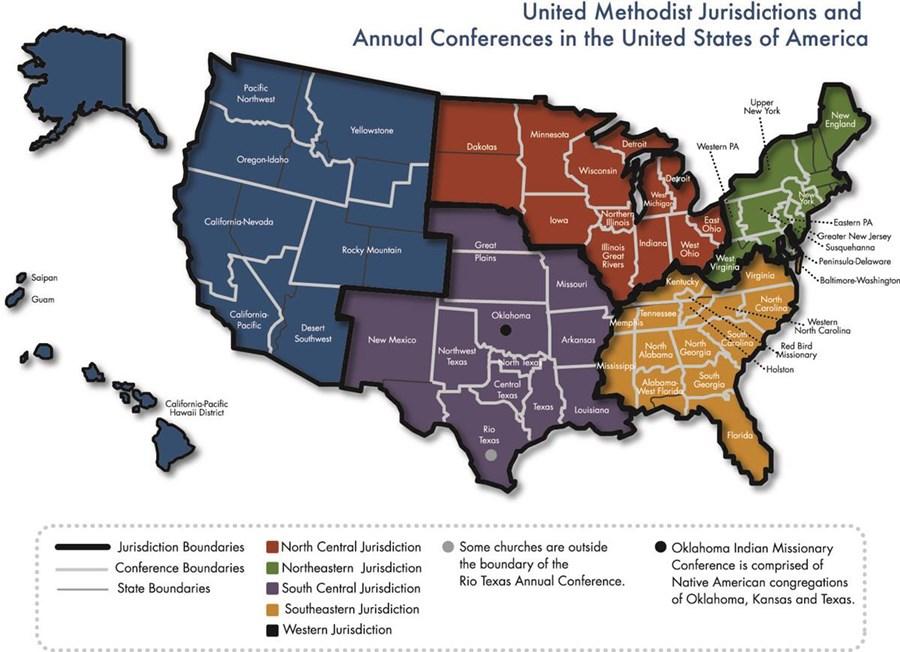 umc jurisdictions