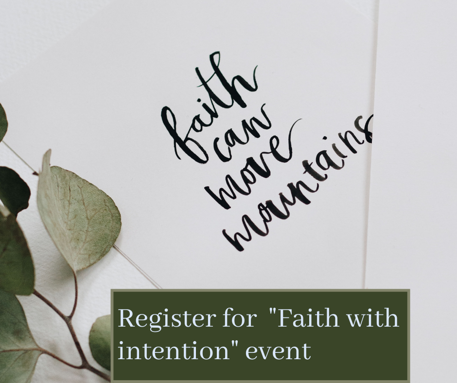 faith with intention event